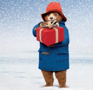 Paddington Bear with parcel