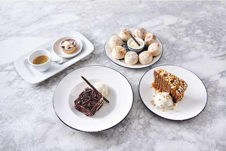 Pizza Express Christmas Desserts 2019
