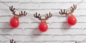 Reindeer Balloon Advent Calendar