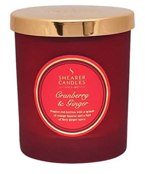 Shearer Candles Cranberry And Ginger Candle