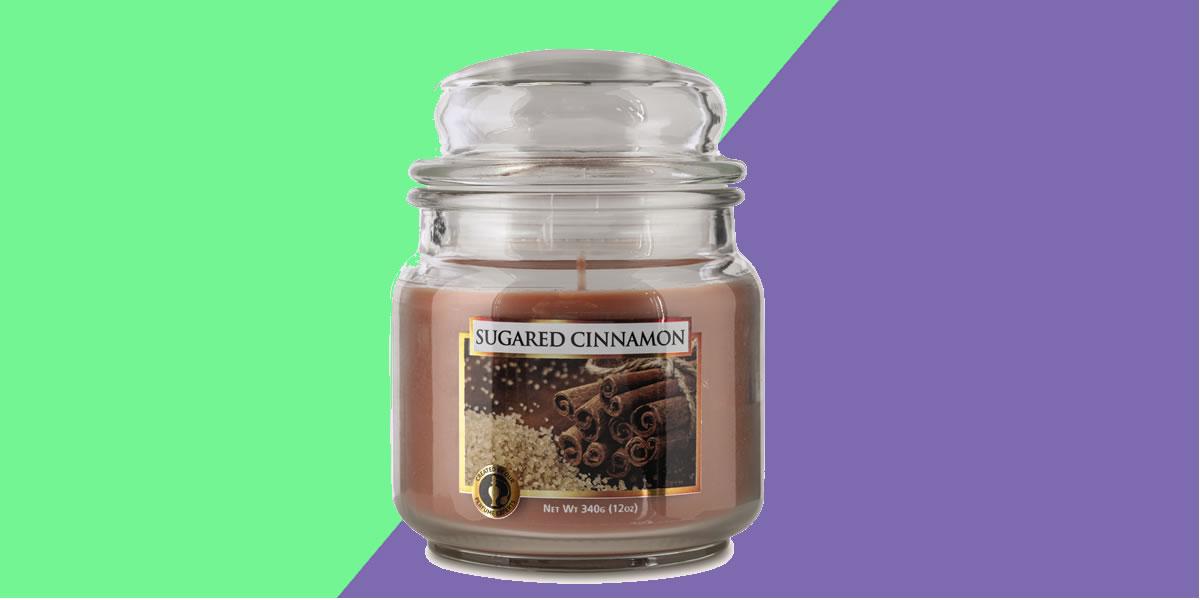 Aldi sugared cinnamon candle