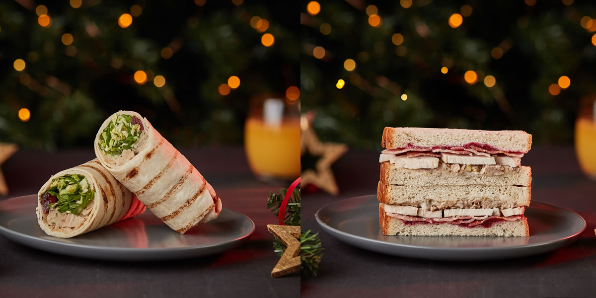 Tesco 2019 Christmas Sandwich Range
