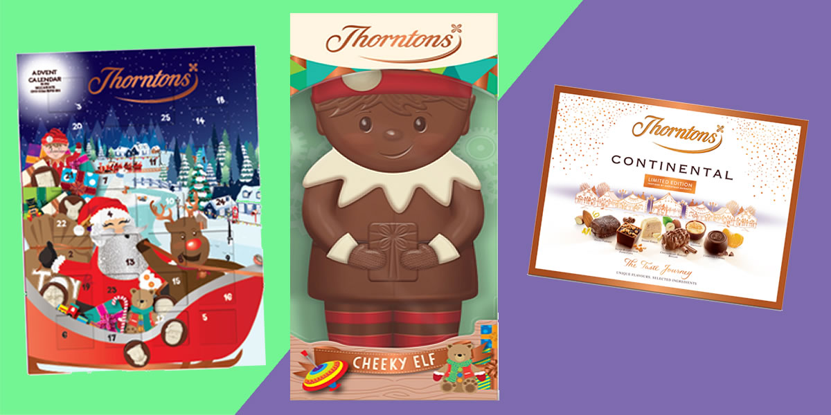 Thorntons Christmas Chocolates 2019