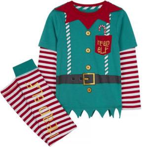 TU Clothing Kids Elf Pyjamas