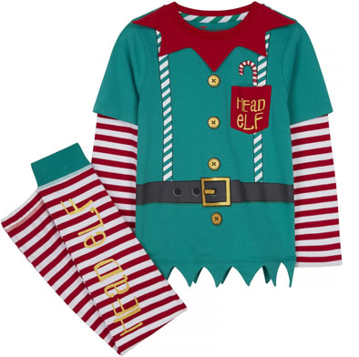 TU Clothing Kids Elf Pyjamas