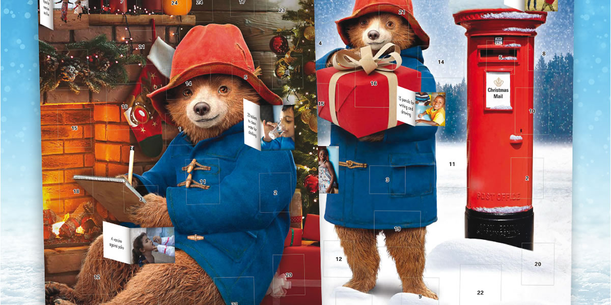 Unicef Paddington Bear Advent Calendars