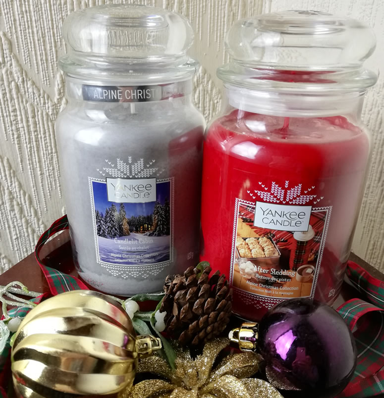 Yankee Candle Alpine Candles 2019