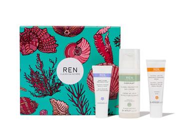REN Clean Skincare Face Favourites Skincare set