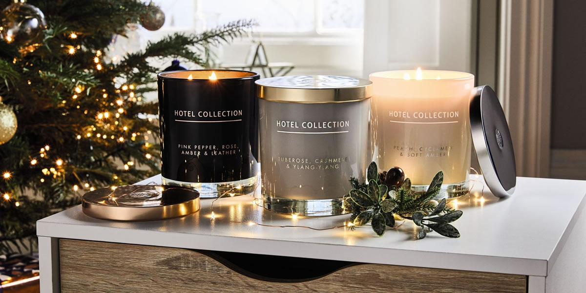 Aldi Hotel Collection Candle