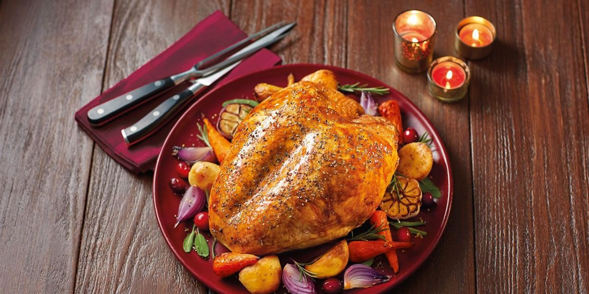 Aldi Specially Selected British Free Range Bronze Turkey Crown £6.89 per kg