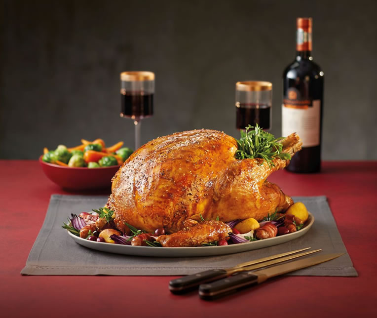 Aldi Specially Selected Roly Poly Turkey