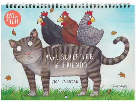 Axel Scheffler - Cat in a Flat