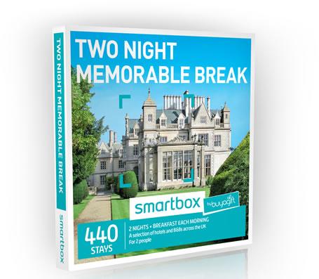 BuyAGift's Two Night Memorable Break