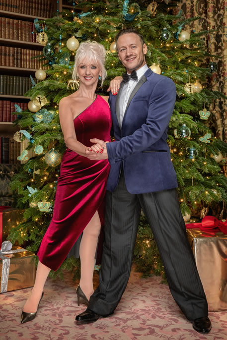 Strictly Come Dancing - Christmas Special 2019 Debbie McGee, Kevin Clifton