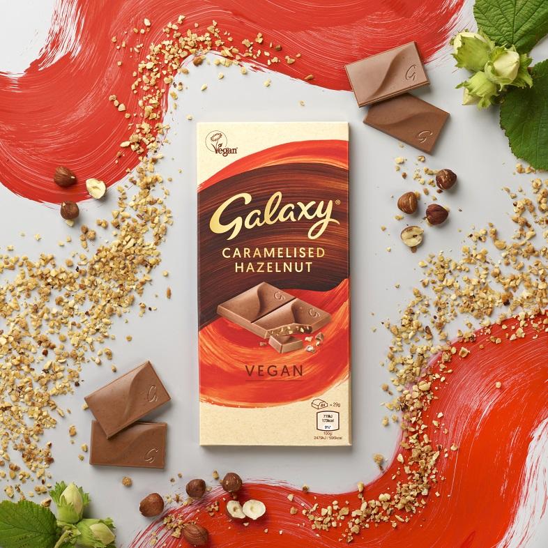 Image of Galaxy Caramelised Hazelnut Chocolate
