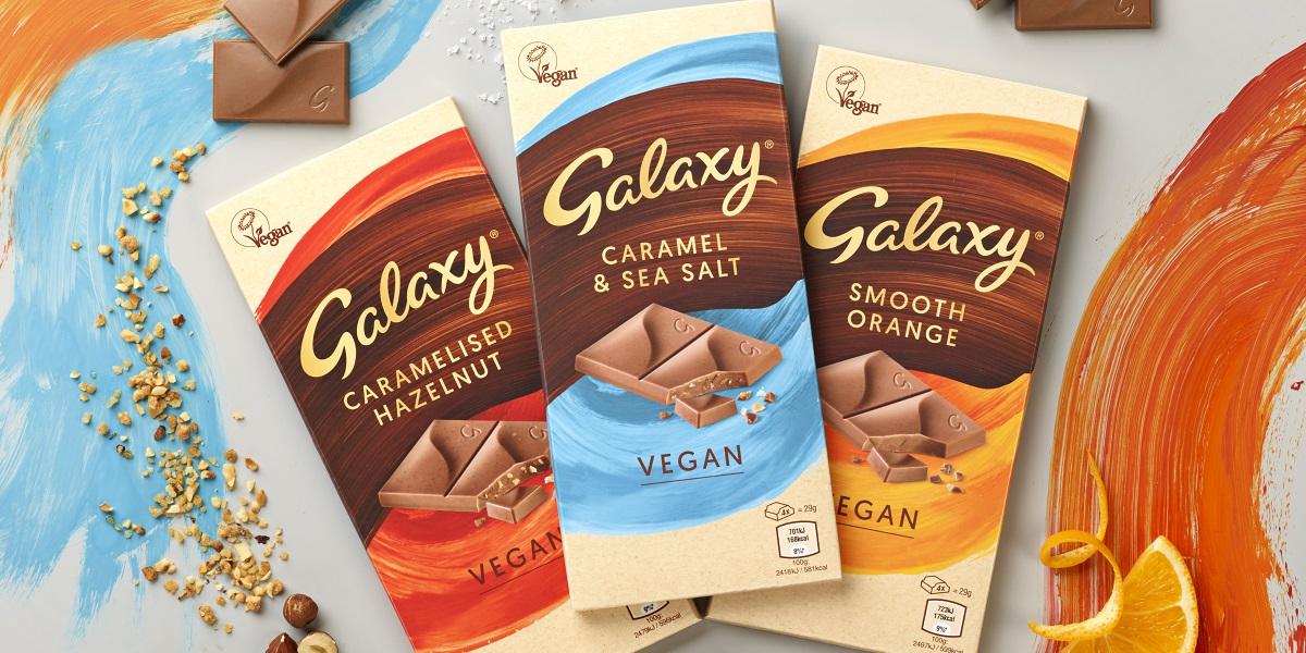 Image of Galaxy Vegan chocolate