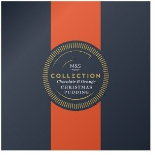 Marks & Spencer Collection Chocolate & Orange Christmas Pudding, £12