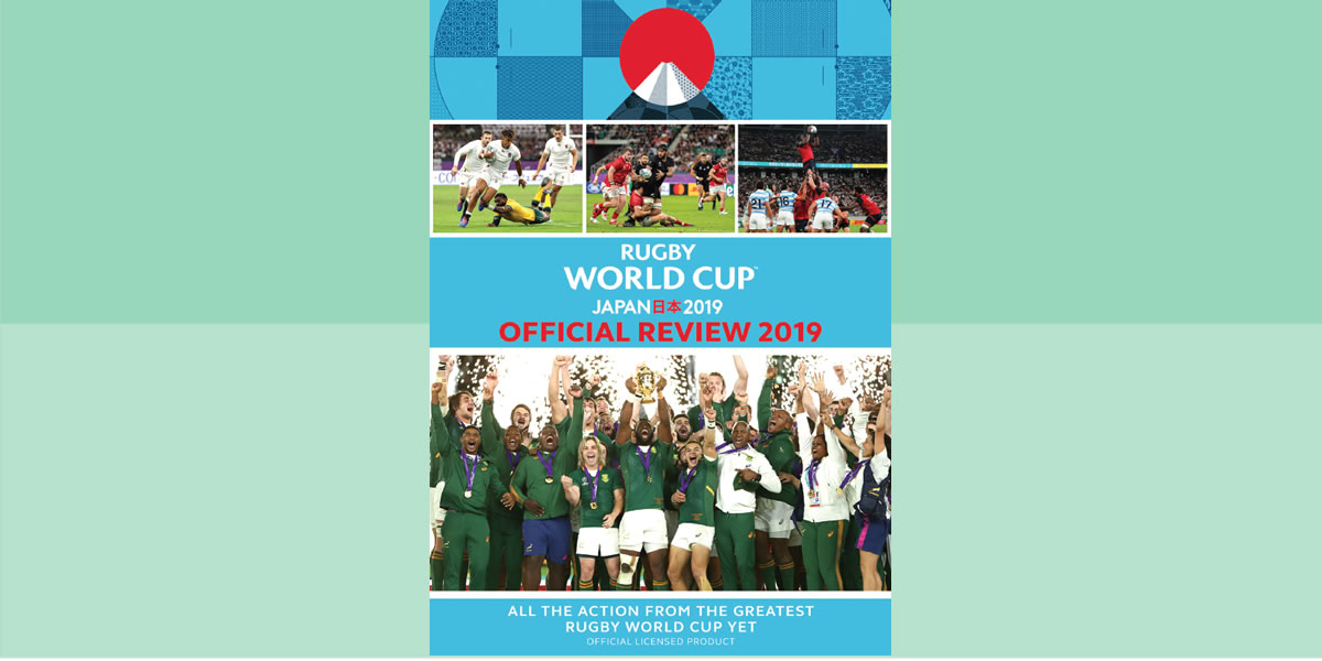 RUGBY WORLD CUP JAPAN 2019 –THE OFFICIAL REVIEW DVD