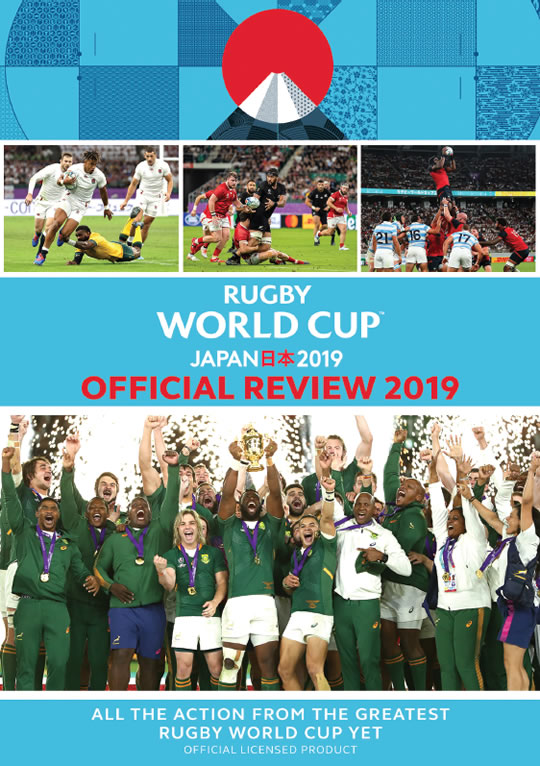 RUGBY WORLD CUP JAPAN 2019 –THE OFFICIAL REVIEW