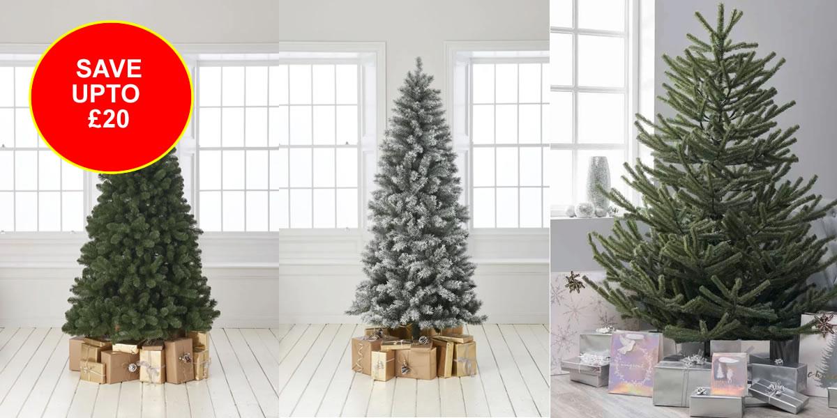 Wilko Christmas tree's
