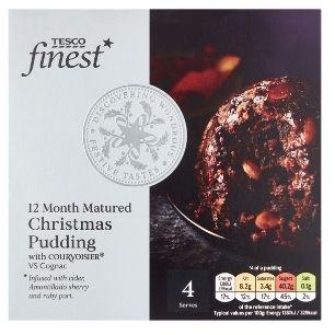Tesco Finest Christmas Pudding, £8.00