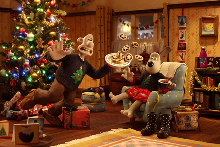 Wallace and Gromit Christmas advert