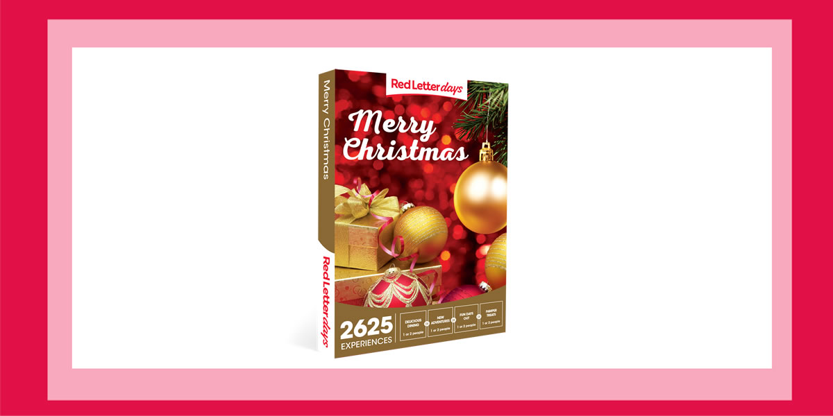 Day 4 #12XmasDays WIN Red Letter Days – Merry Christmas Gift Box experience vouchers