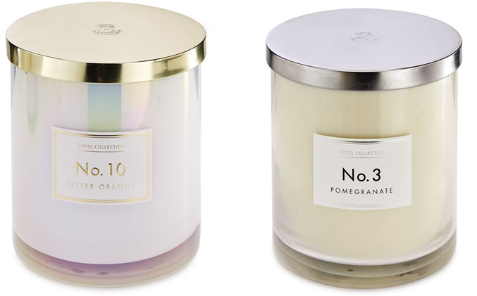 Aldi Christmas otel Collection Hurricane Candle