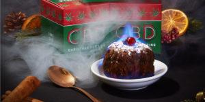 Firebox.com CBD Christmas Pudding