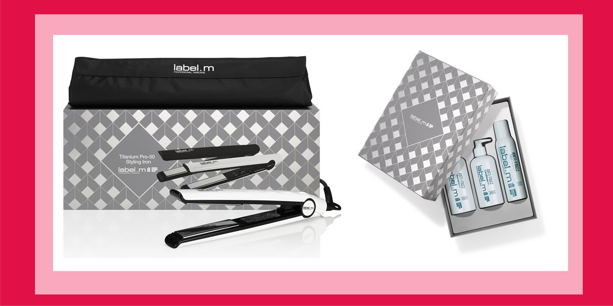 Day 8 - #12XmasDay - WIN label.m Christmas Pro-50 Styling Iron Gift Set and The Smooth Collection