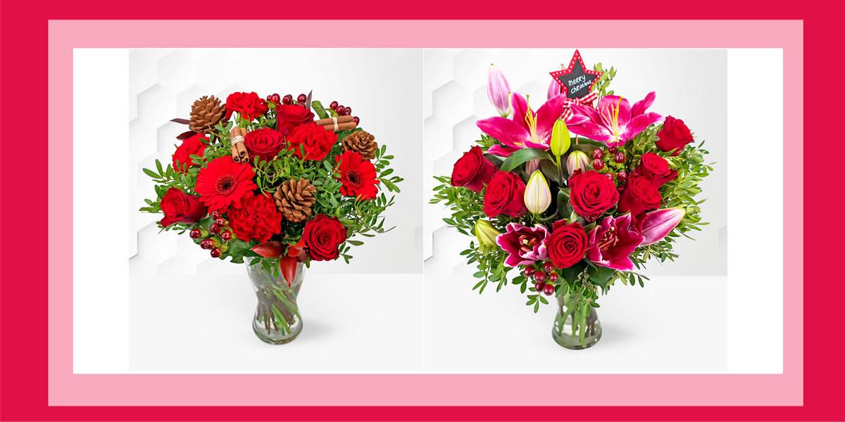 12xmasdays - Day 9 - WIN one of two Prestige Flower Bouquets
