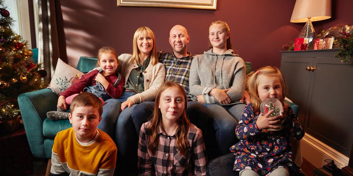 Dunelm The Fuller Family - Christmas 2019 advert