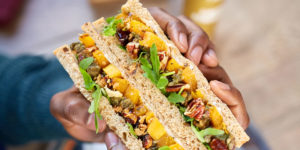 Image of Pret Christmas sandwiches
