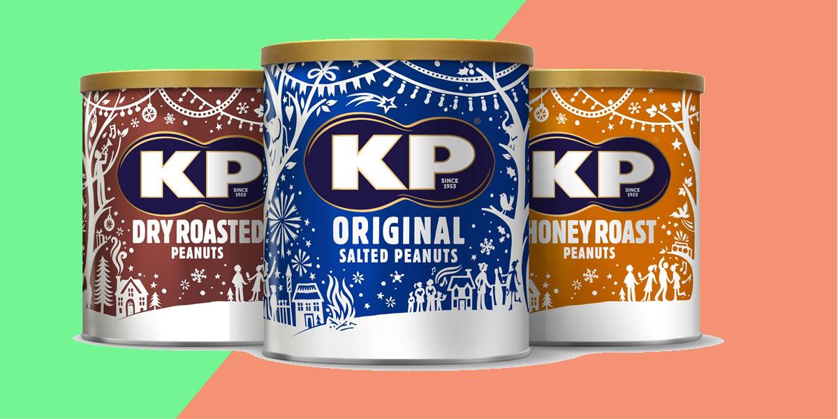 KP Nuts Christmas caddie's