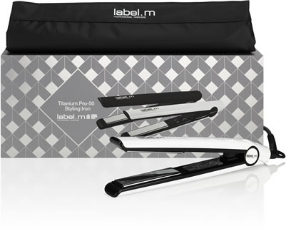 Label.m Christmas Pro-50 Styling Iron Gift Set