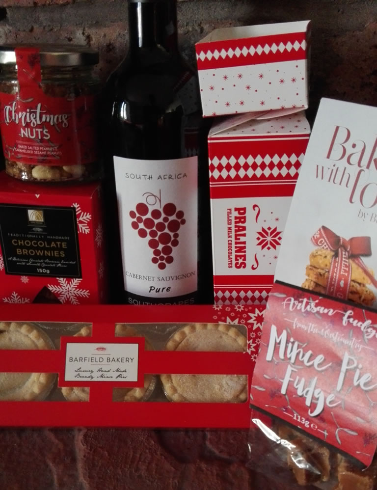 Love From Santa Hamper What Is Included
