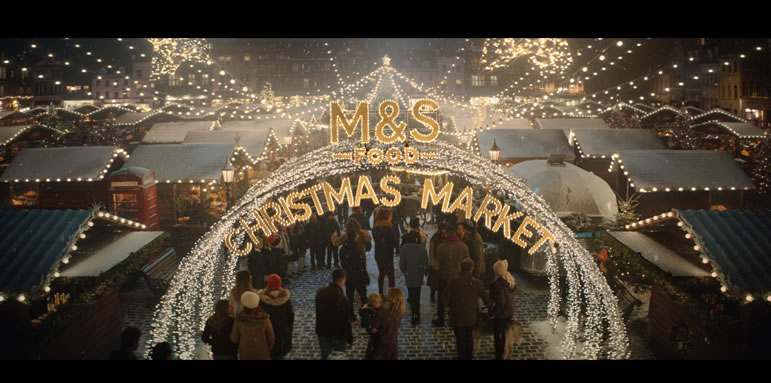 Marks and Spencer Christmas Food Advert 2019