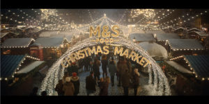 Marks and Spencers Food Christmas Market 2019