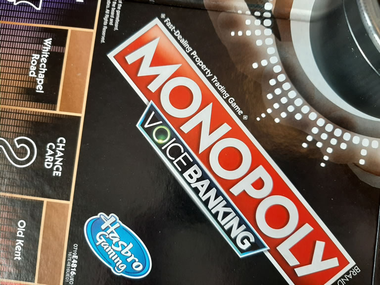Monopoly Voice Banking Chance Square