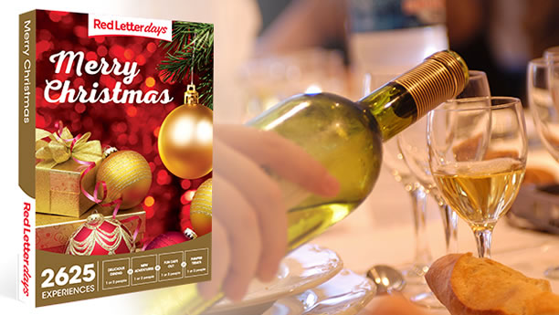 Red Letter Days – Merry Christmas Gift Box experience vouchers
