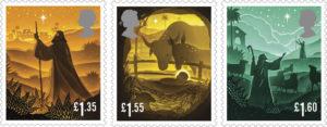 Royal Mail Christmas Stamps 2019