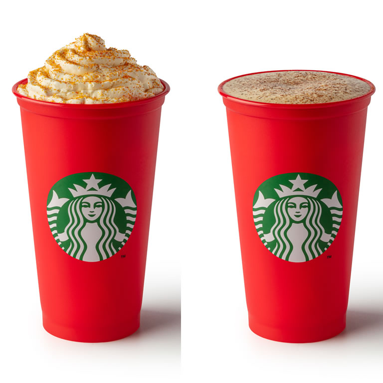 Starbucks Christmas drinks 2019