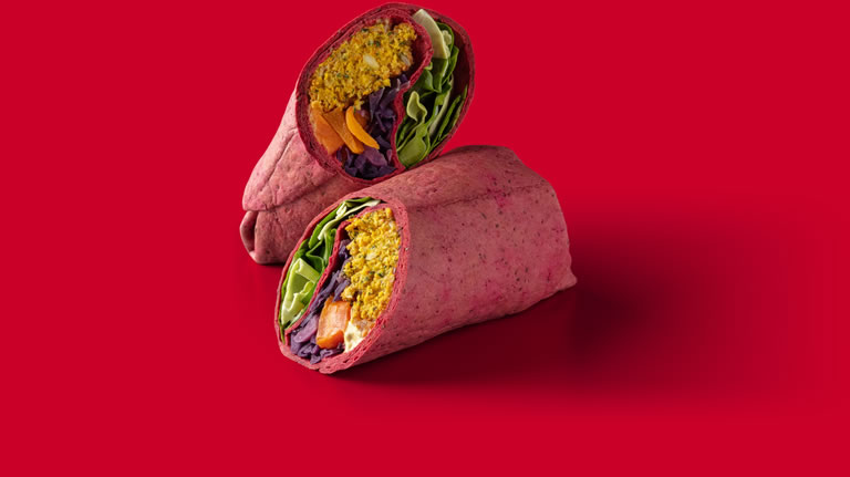 Starbucks Very Merry Vegan Wrap