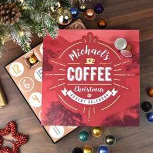 The Gift Experience Personalised Coffee Advent Calendar