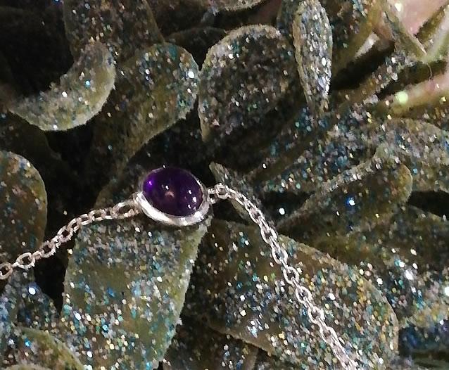 Birthstone Silver Bracelet