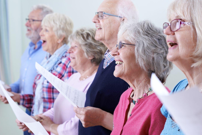 McCarthy & Stone group singing