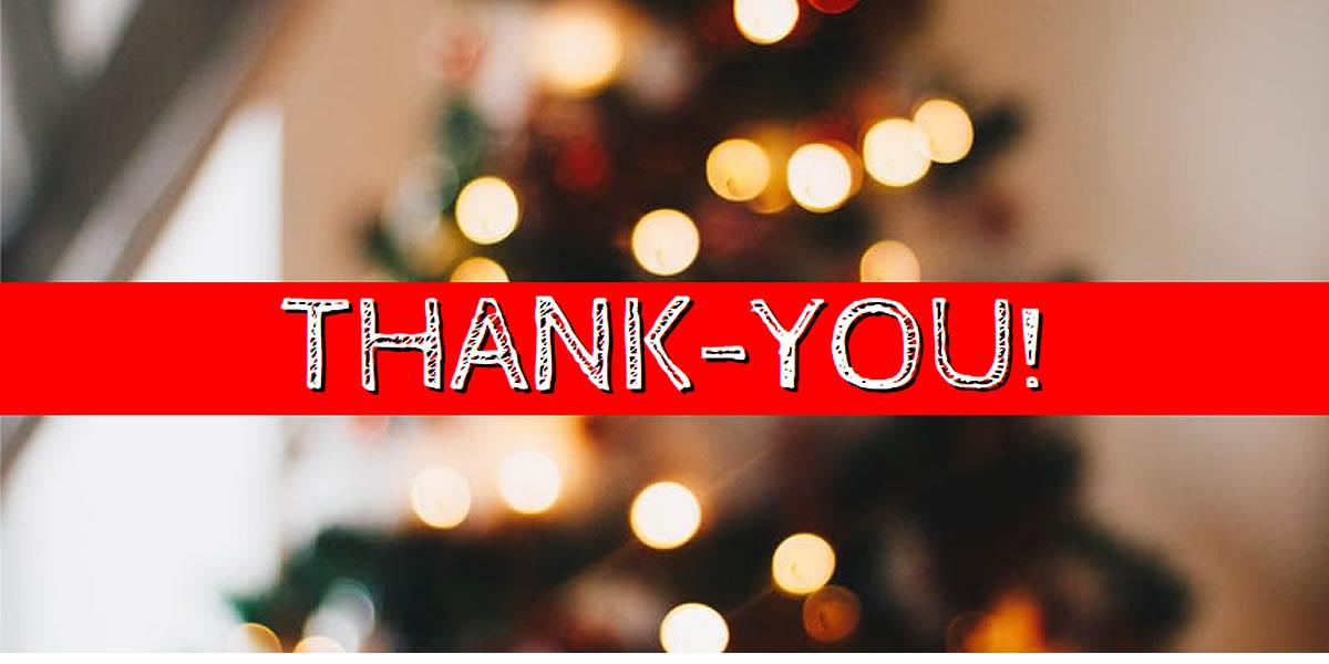 Thank-You festive friends