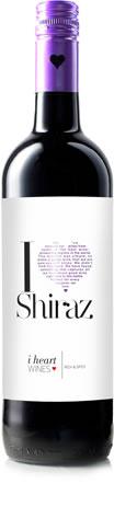 I Heart Wines Shiraz Wine