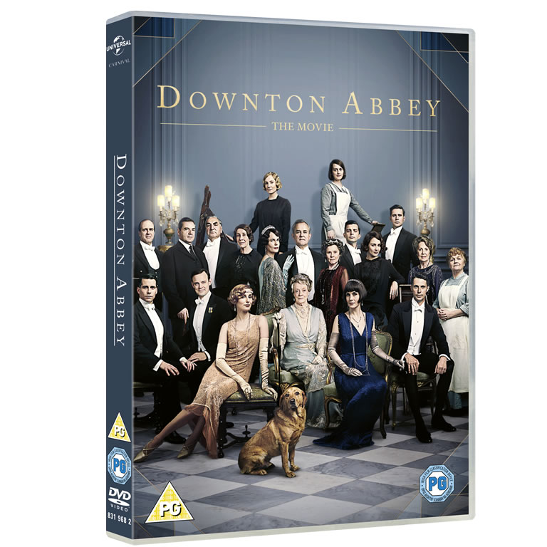 Downton Abbey The Movie DVD