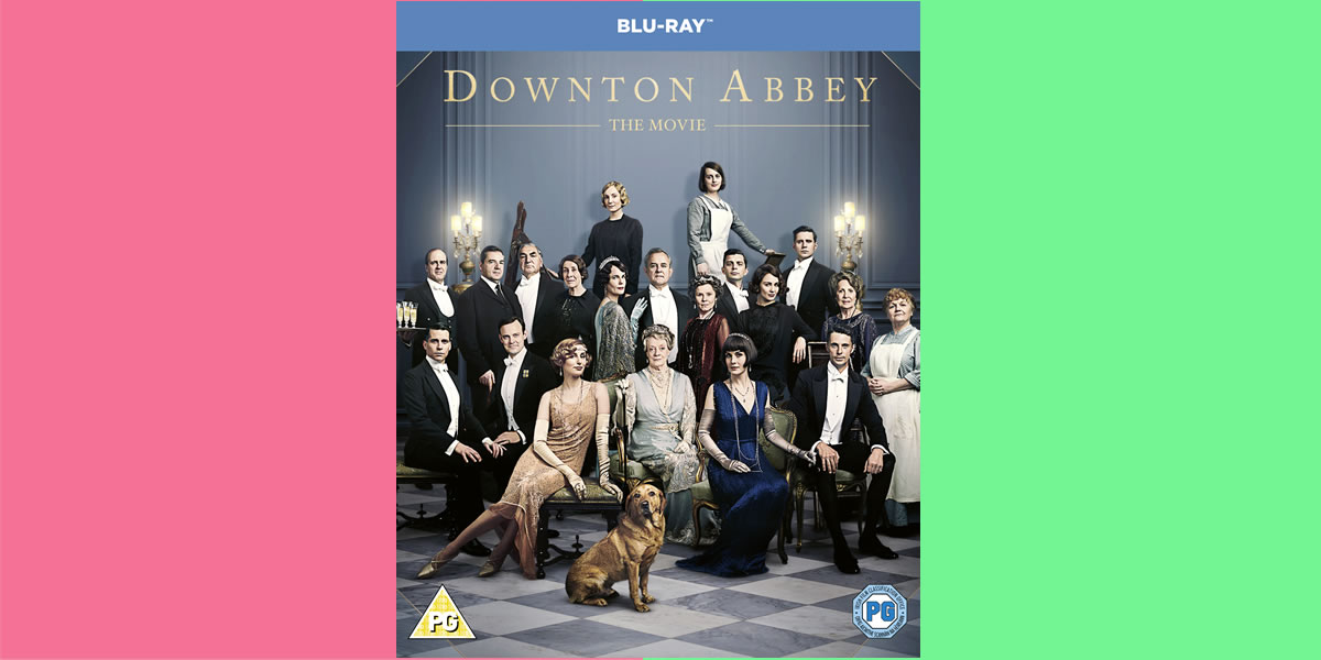 WIN Downton Abbey The Movie on BLU-RAY DVD